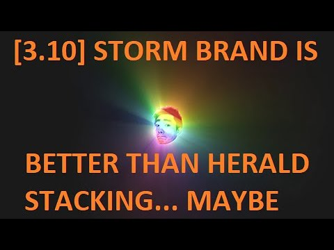 [3.10] Storm Brand is the most [Bugged]fun build in Delirium League