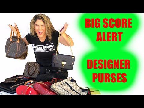 Storage Unit Full of Designer Handbags  Purses Louis Vuitton Coach Prada Gucci Bags  Wars