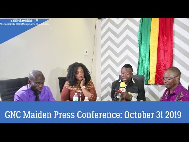 GNC Press conference : Unity