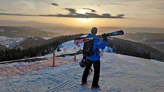 Славское Волосянка зима 2021 Карпаты гора Захар Беркут горнолыжный курорт
