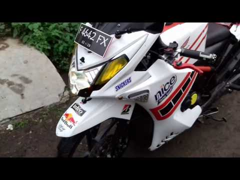 Modifikasi Honda Beat FI 2013 Motor Matic Full Fairing Part-1