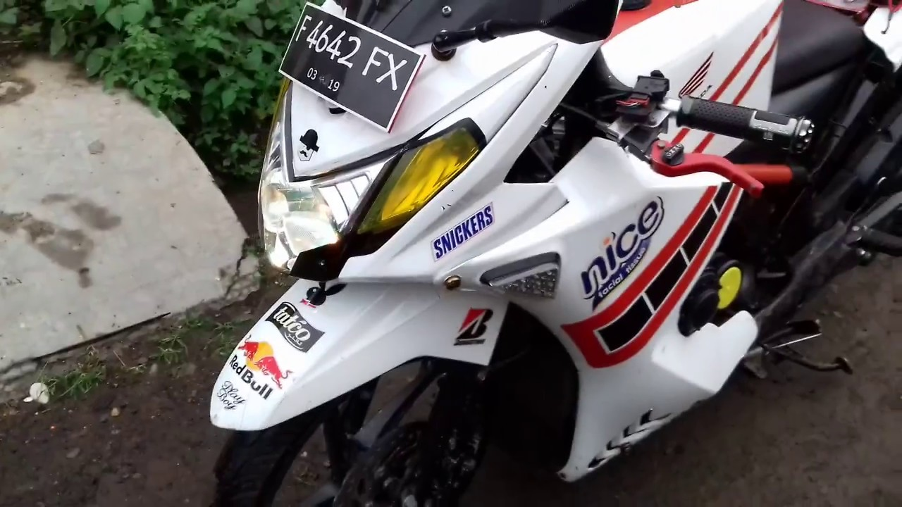 Download 56 Modifikasi Honda Beat Jadi Motor Sport Terunik