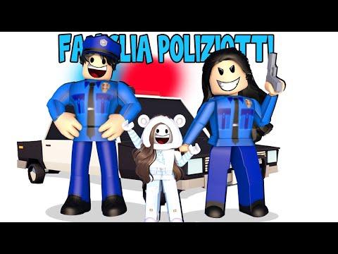 VENGO ADOTTATA DA UNA FAMIGLIA DI POLIZIOTTI SU ROBLOX ADOPT ME!