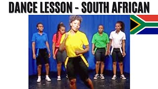Learn how to Dance to Southern African music with Simunye