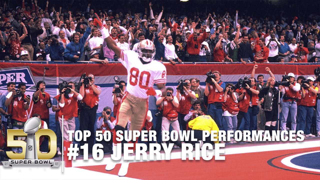 sale retailer f098b fb2fe #16: Jerry Rice SB XXIV Highlights | 49ers vs. Broncos | Top 50 Super Bowl  Performances