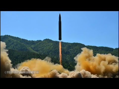North Korea Successfully Tests Intercontinental Ballistic Missile Hwasong-14 - ICBM