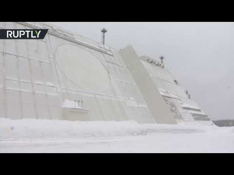 Citadel of defence: Radar station that protects Moscow from ballistic missile attack