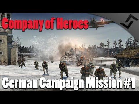 Company of Heroes 2 - German Campaign Mission #1