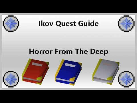 [IKOV RSPS] Horror From The Deep Quest Guide