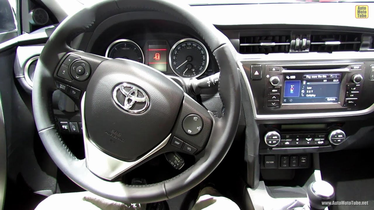 2013 Toyota Auris Interior 2012 Paris Auto Show Youtube