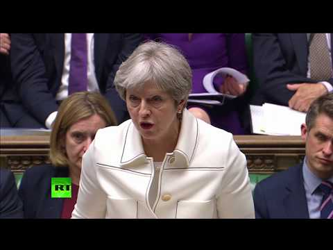 LIVE: Theresa May faces grilling by MPs as she gives statement on Syria airstrikes