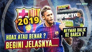 Kok Bisa Neymar Jr Akan Kembali Ke Barcelona? Begini Ceritanya...