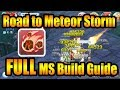 Quick Road to Meteor Storm Guide for Wizard[RAGNAROK M ETERNAL LOVE]