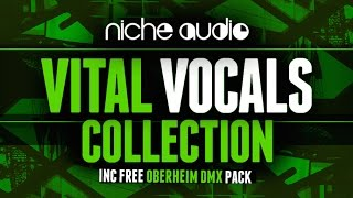 Vital Vocals Sample Pack For Maschine Ableton Logic - From Niche Audio