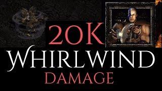 20k Whirlwind Damage Barbarian - Diablo 2