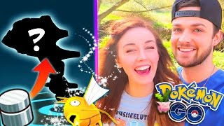 Pokemon GO! - ⭐USING MY FIRST EVER EVOLUTION ITEM!🙌 PLUS MORE SHINY HUNTING!🐠