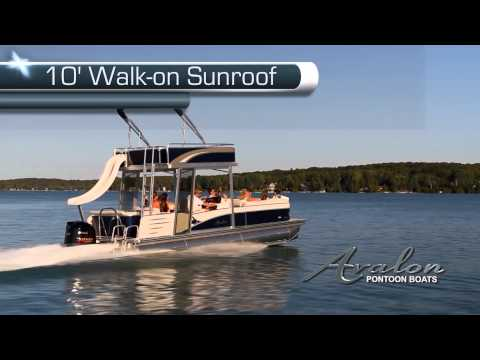 2013 Pontoon Boats- The Avalon C-Series Funship