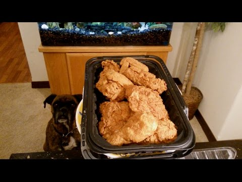 Walmart Deli Fried Chicken Review