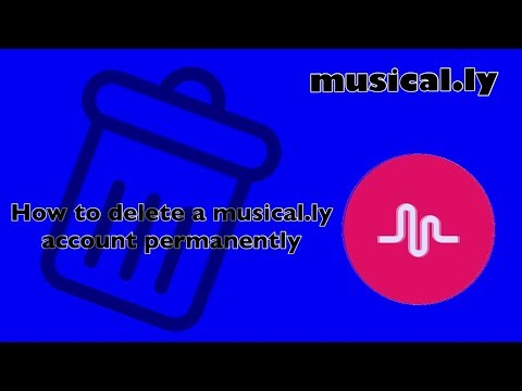 How to delete Musically Account Permanently Mobile Phone? Easy video