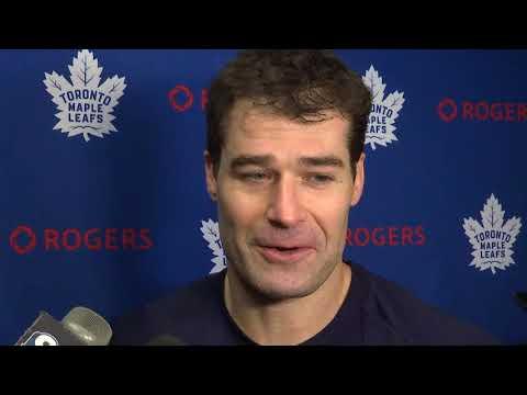 Maple Leafs Morning Skate: Patrick Marleau - October 30, 2017