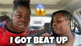 I GOT BEAT UP PRANK ON SISTER *She Grabbed A Knife*