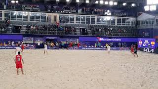 Пляжный футбол Чемпионат мира Таити Испания 12 8 21 08 2021