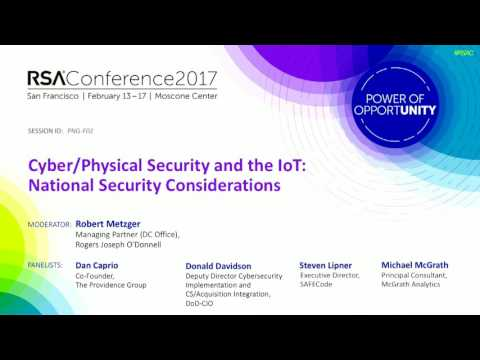 Cyber/Physical Security and the IoT: National Security Considerations