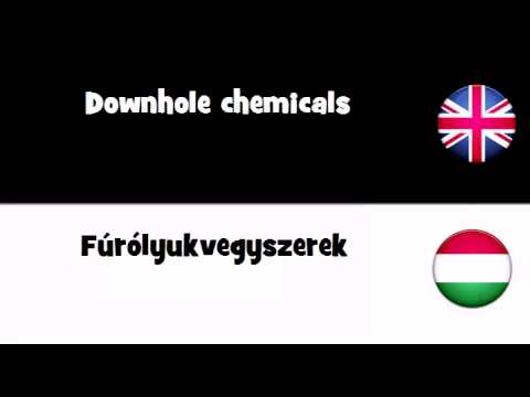 SAY IT IN 20 LANGUAGES = Downhole chemicals