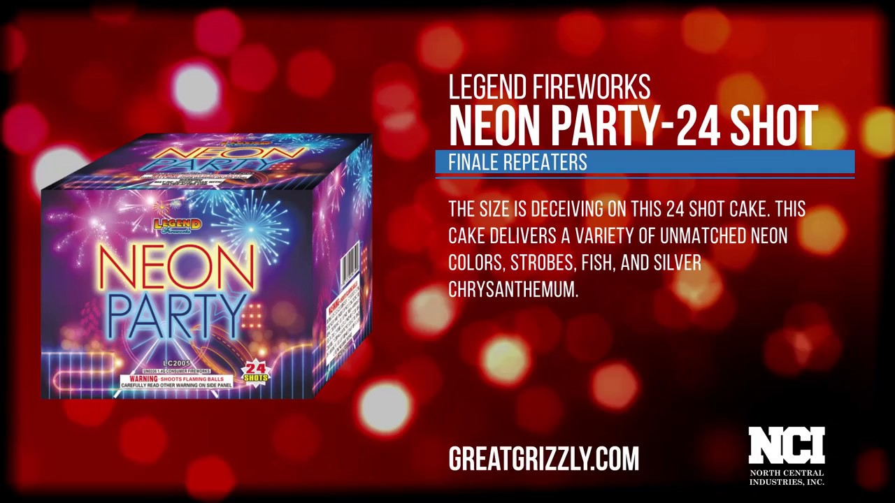 Neon Party (AERIAL REPEATERS) WWW. GREAT GRIZZLY .COM - YouTube