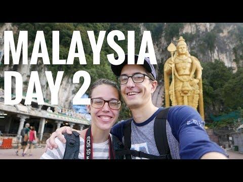 MALAYSIA // Day 2 // Batu Caves, Petronas Towers, & Kampung Baru Walking Tour