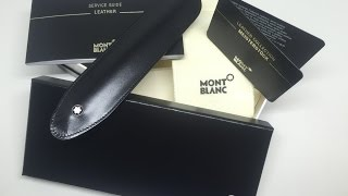 Montblanc One Pen Sleeve review