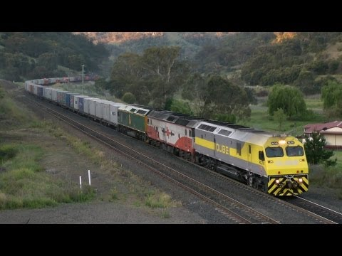 NSW Railways - Main North And Liverpool Range: Australian Trains