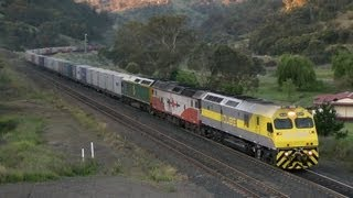NSW Railways - Main North and Liverpool Range: Australian Trains