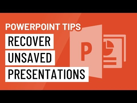 PowerPoint Quick Tip: Recover Unsaved Presentations