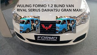 Download Video Wuling Formo 1.2 Blind Van M/T - Indonesia MP3 3GP MP4
