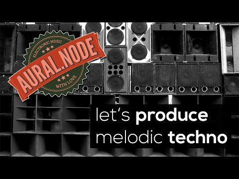 let's produce #001: melodic techno - the drums - Ableton Live Tutorial
