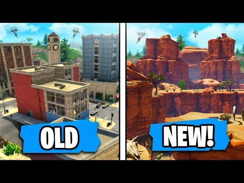 NEW 'Dry Desert Map' Coming Soon After 'Meteor Destroys Tilted Towers' Says Epic! (Season 4 NEW MAP)