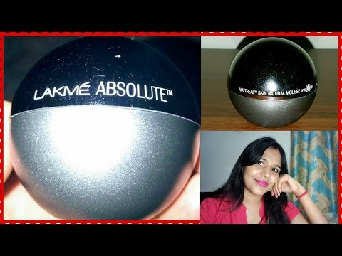 Lakme Absolute Mousse Foundation Vs. 9 to 5 Weightless Mousse Foundation | Review & Comparison from YouTube · Duration:  7 minutes 49 seconds