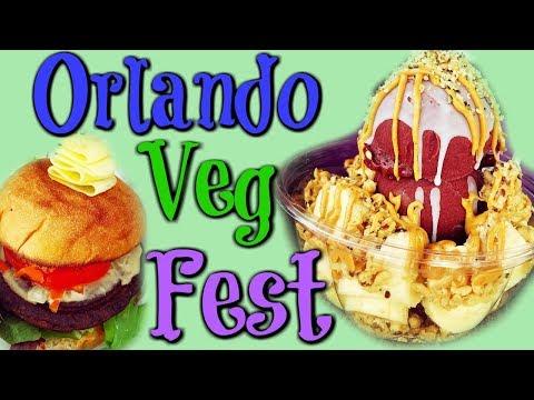 Orlando Veg Fest 2018.... Waaaayyyy Too Much Fun