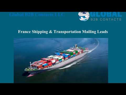 France Shipping Transportation Mailing Leads