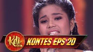 Delima VS Abi Dalam Tantangan Menyanyikan Lagu Ramadan CINTA TERLARANG Kontes KDI Eps 20 31 8