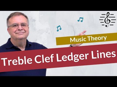 Ledger Lines Treble Clef - Test Your Knowledge!