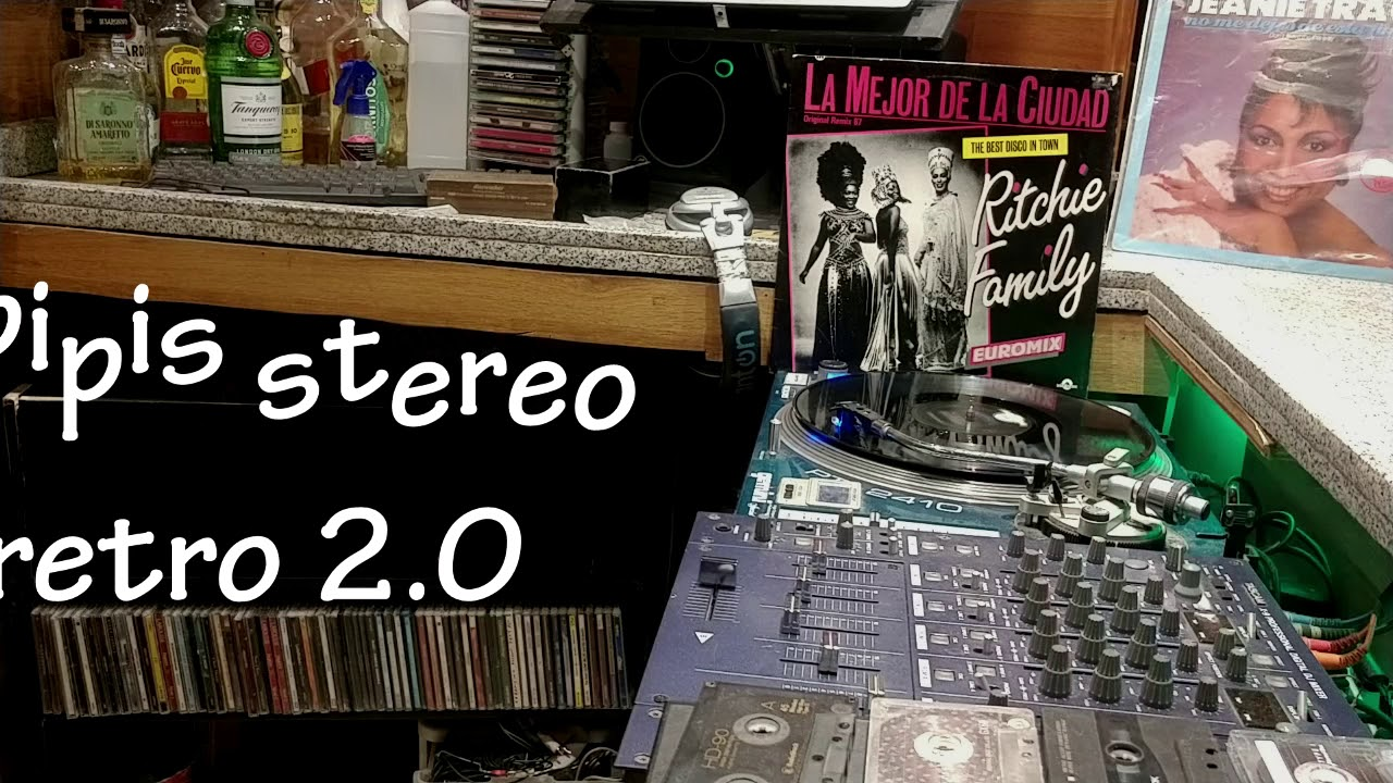 The Best Disco in Town original remix 87 RITCHIE FAMILY 1987