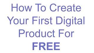 So Erstellen Sie Ein Digitales Produkt Für Freies