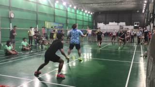 2017 의왕 포일 배드민턴 클럽 MD 시범 경기