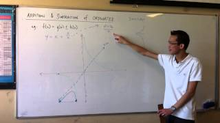Addition & Subtraction of Ordinates (2 of 3)