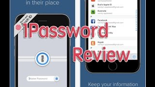 AppZellent 1Password - Password Manager and Secure Wallet review on iPhone