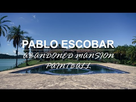 #3 Paintball in abandoned Pablo Escobar mansion - Medellin, Colombia
