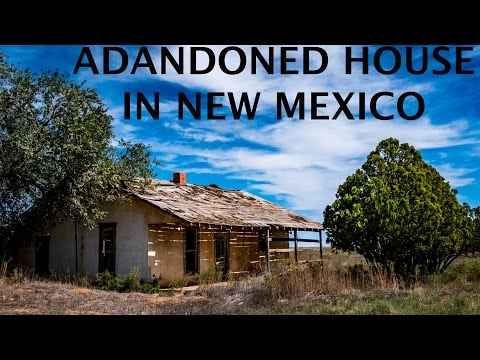 Creepy Abandoned House in New Mexico