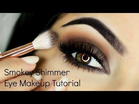 Smokey Shimmer Eye Makeup Tutorial thumbnail
